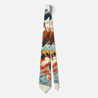 Actor Ichikawa Danjuro 1810 Tie