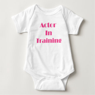 Actor in Training Baby Bodysuit