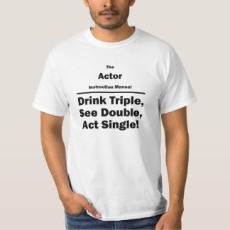 Actor Instruction Manual T-shirt