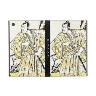 Actor japonés del vintage clásico como samurai Shu iPad Mini Cárcasas