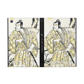 Actor japonés del vintage clásico como samurai Shu iPad Mini Carcasas
