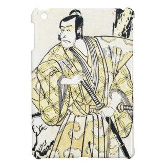Actor japonés del vintage clásico como samurai Shu iPad Mini Protector