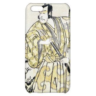 Actor japonés del vintage clásico como samurai Shu