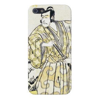 Actor japonés del vintage clásico como samurai Shu iPhone 5 Protector