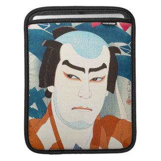 Actor Jitsukawa Enjaku as Danshichi Natori Shunsen Sleeves For iPads