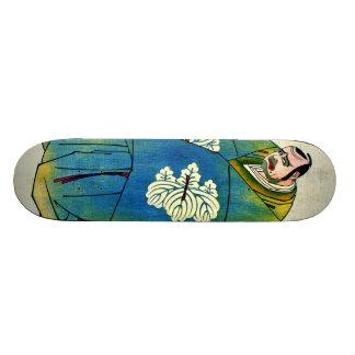 Actor Kataoka Nizaemon 1793 Skateboard