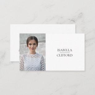 Actor business cards templates zazzle actor model dancer headshot photo social media business card colourmoves