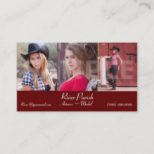 Actor business cards zazzle actor model headshot business cards colourmoves