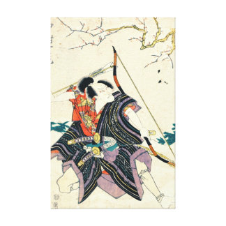 Actor Nakamura Shikan 1818 Gallery Wrap Canvas