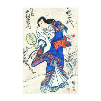Actor Nakamura Utaemon 1825 Gallery Wrap Canvas