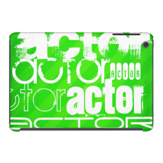 Actor; Neon Green Stripes iPad Mini Retina Case