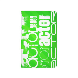 Actor; Neon Green Stripes Journal