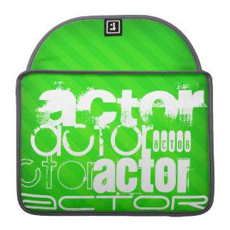 Actor; Neon Green Stripes MacBook Pro Sleeve
