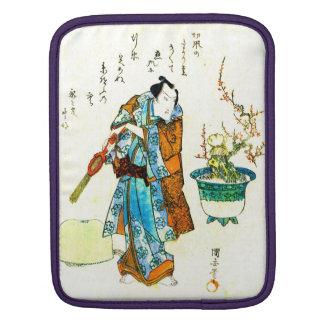 Actor Onoe Kikugoro 1818 Sleeve For iPads