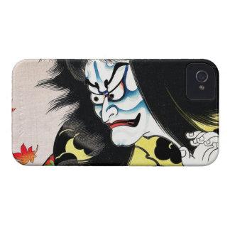 Actor oriental fresco del kabuki de Togakushi del Funda Para iPhone 4 De Case-Mate
