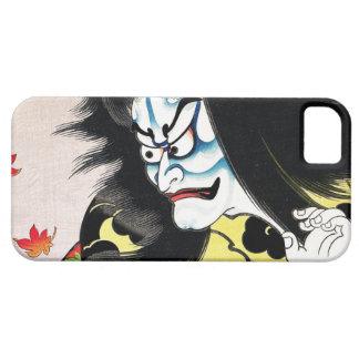 Actor oriental fresco del kabuki de Togakushi del Funda Para iPhone SE/5/5s