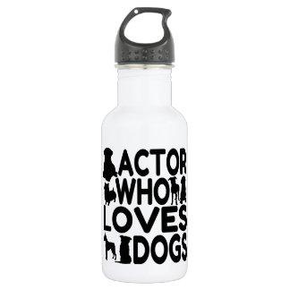 Actor que ama perros
