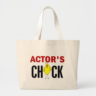 Actor's Chick Tote Bags