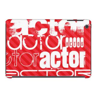 Actor; Scarlet Red Stripes iPad Mini Retina Case
