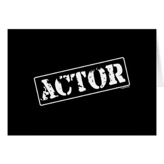 Actor Stamp Card