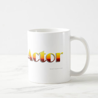 Actor (Text Only) Coffee Mug