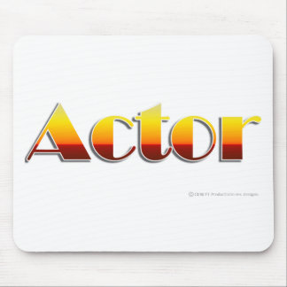 Actor Text Only Mouse Mats