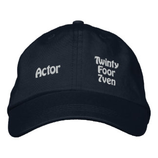 Actor - Twinty Foor 7ven Embroidered Baseball Hat