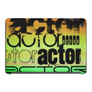 Actor; Vibrant Green, Orange, & Yellow iPad Mini Retina Case