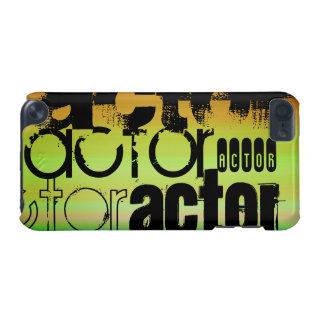 Actor; Vibrant Green, Orange, & Yellow iPod Touch 5G Case