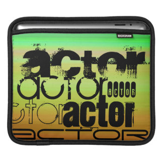 Actor; Vibrant Green, Orange, & Yellow Sleeves For iPads