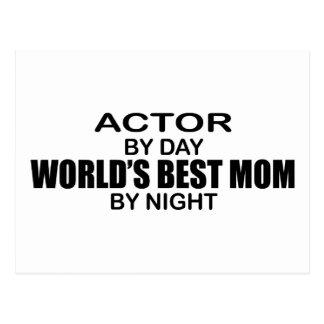 Actor - World's Best Mom Postcard