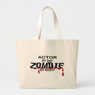 Actor Zombie Jumbo Tote Bag