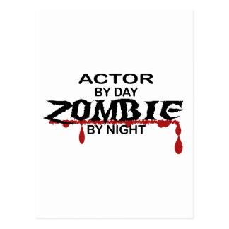 Actor Zombie Postcard
