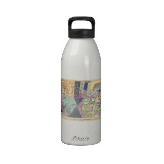 Actores del asiático de Paul Klee- Botella De Agua Reutilizable