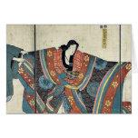 Actores por Utagawa, Kuniyoshi Felicitacion