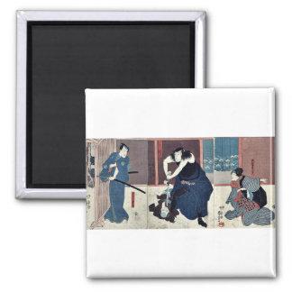 Actores por Utagawa, Kuniyoshi Imán