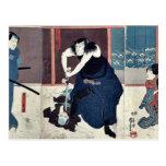 Actores por Utagawa, Kuniyoshi Postales
