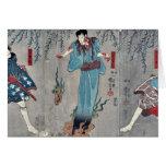 Actores por Utagawa, Kuniyoshi Tarjeton
