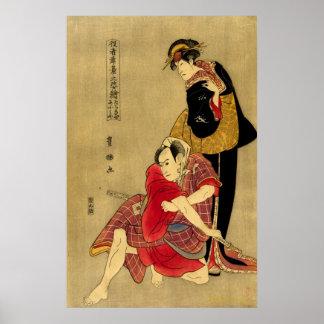 Actores Tachibanaya y Omiya Posters