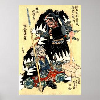 Actores Yatsubei y Yajibei 1818 Poster