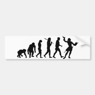 Actors acting theater performing arts gear bumper sticker