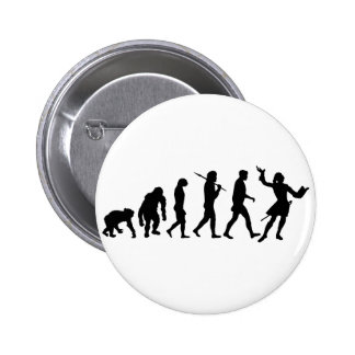 Actors acting theater performing arts gear 2 inch round button