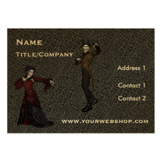 Actors/Actresses Dramatic Business Card Template