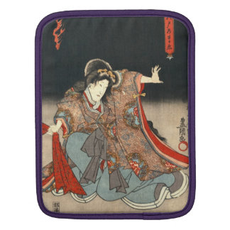 Actors Diptych 1847 Right iPad Sleeves