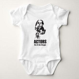Actors Do It On Stage Baby Bodysuit