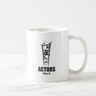 Actors Film It Classic White Coffee Mug