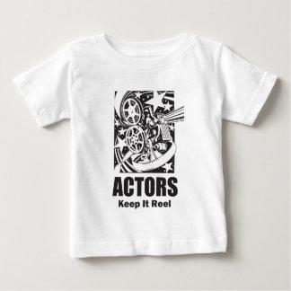 Actors Keep it Reel Baby T-Shirt