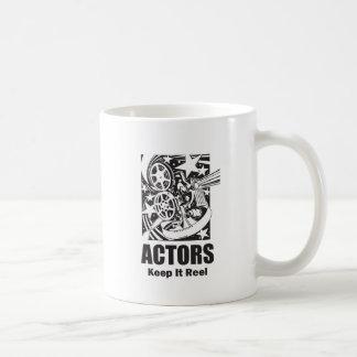 Actors Keep it Reel Classic White Coffee Mug
