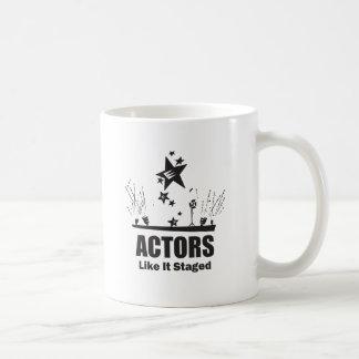 Actors Like It Staged Classic White Coffee Mug