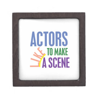 Actors Like to Make a Scene Gift Box
